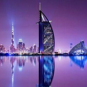 Dubai-madinat-burj-al-arab-buj-khalifa-pic