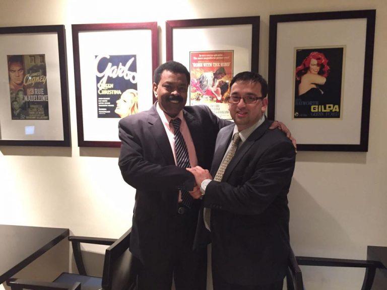 With Dr S Saadalla, UNIC Board Director and Advisor to Prince Md Bin Saad Bin Md Al-Saud of KSA