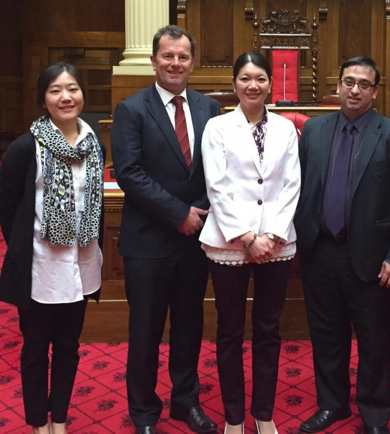 With Jing Lee, MLC in South Australian Parliament